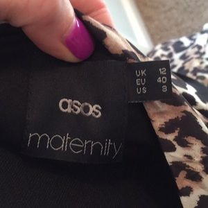 ASOS Maternity Dresses - ASOS animal print maternity dress